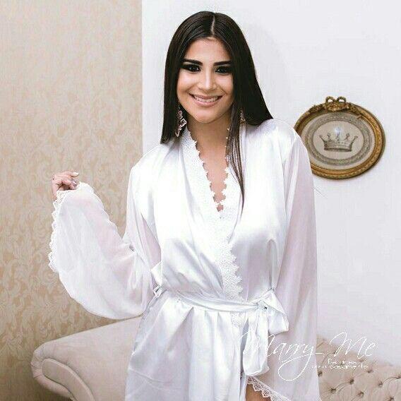 ab956e47eb57ac Robe Noiva Cetim com Musseline – Modelo Giulia | Casamento | Robe ...
