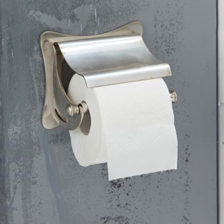 Toilettenpapierhalter Tade   Als Formschönes Basic Für Jedes WC überzeugt  Dieser Toilettenpapierhalter Aus Messing Mit Antiksilber Finish.