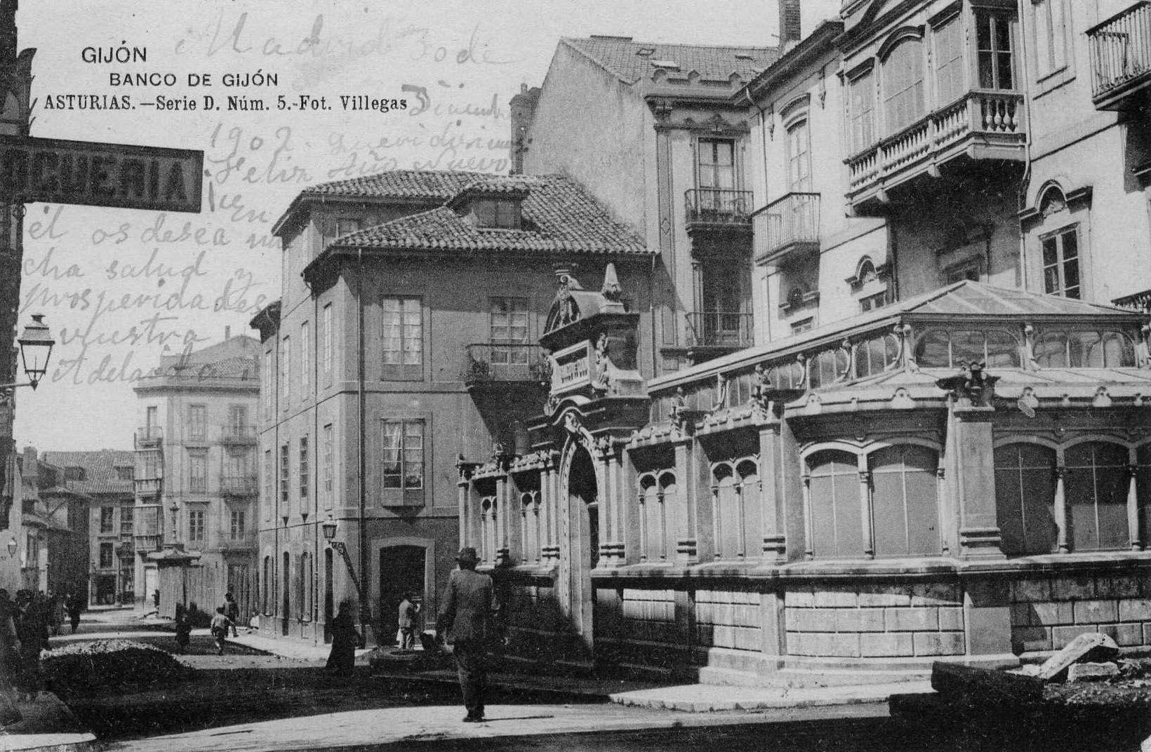 Banco de gij n gijon antiguo pinterest - El tiempo gijon detallado ...