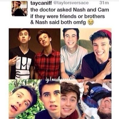 Nash and Cam. If you like or repin, follow me! I have a lot more like it! :)