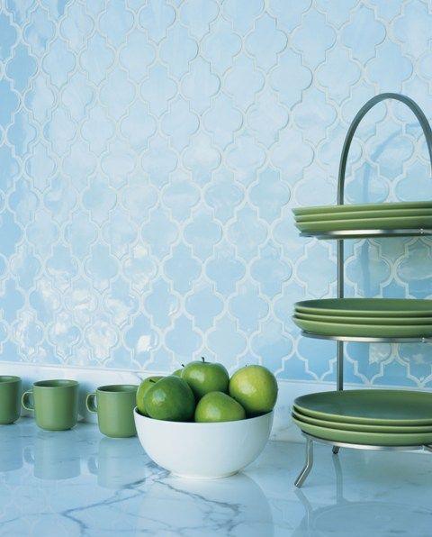 arabesque tile here to stay - Arabesque Tile Backsplash