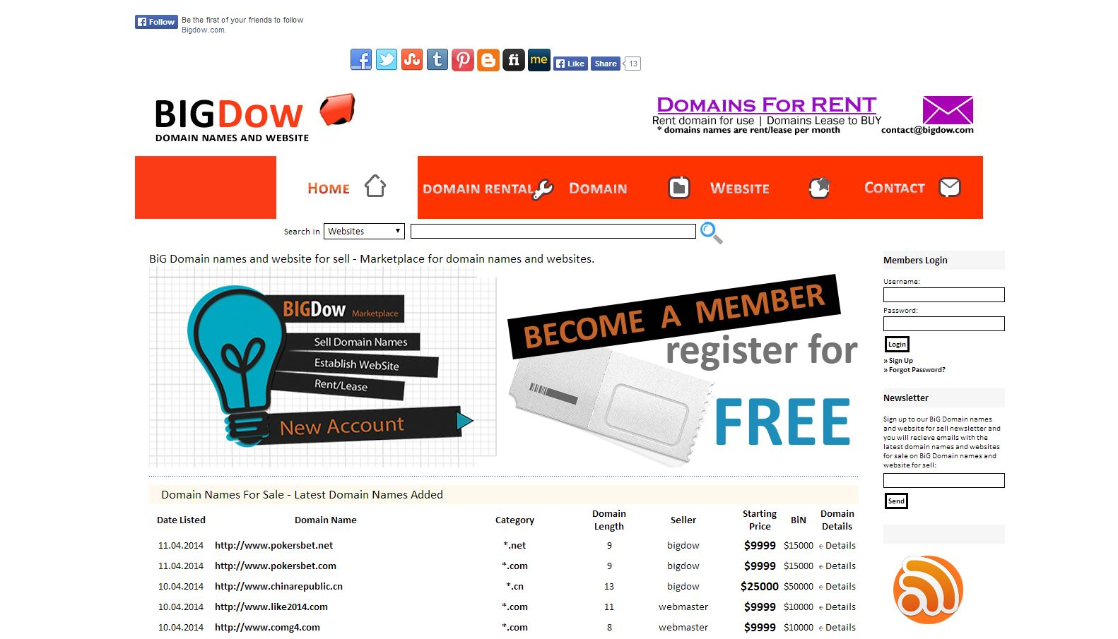 Pin On Domain Names For Rent