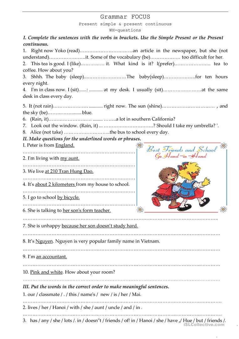 Grammar Drill Grammar Worksheets Grammar Writing Skills [ 1079 x 763 Pixel ]