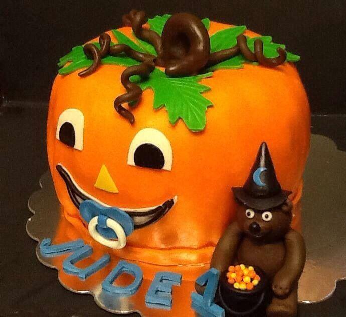 Halloween Pumpkin Cake With Images Felt Halloween Halloween