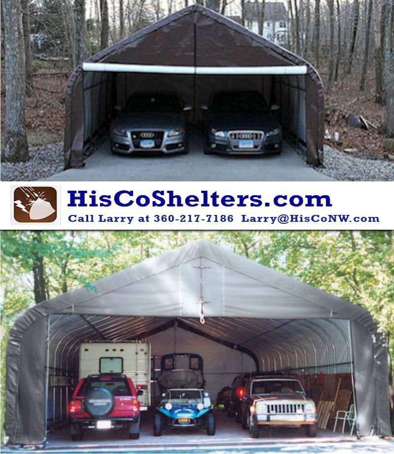 Shelter Logic Portable 2 And 3 Car Garage Free Shipping Next 10