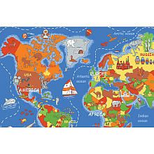 Learning Carpets Where In The World Play Carpet - Map rug babys r us