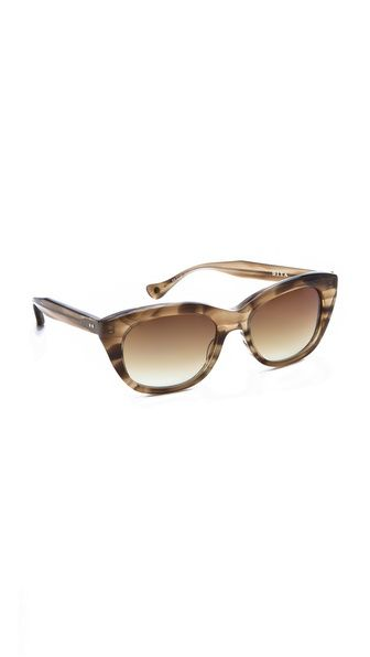 Love the shape. A classic. Good quality. Solid and light. DITA Savoy Sunglasses