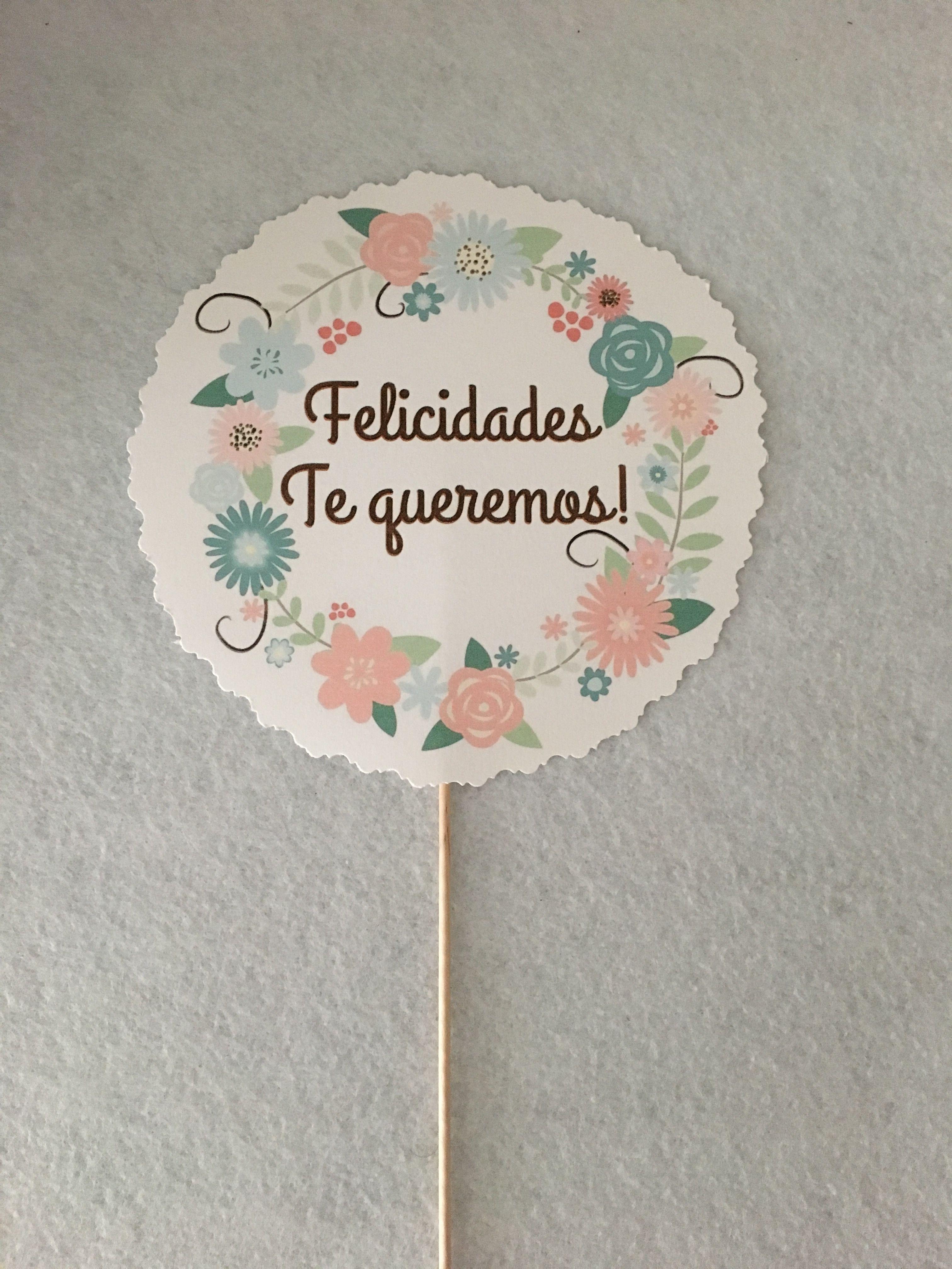 Muchísimas felicidades Isabel!! Espero que pases un gran día! Gracias Eli por contar conmigo para esta sorpresa 💋 #lenay #lenaydym #lenaydiseñoymanualidades #felicidades #happybirthday #decoratufiesta #guirnalda #handmade #hechoamano #flores #flowers
