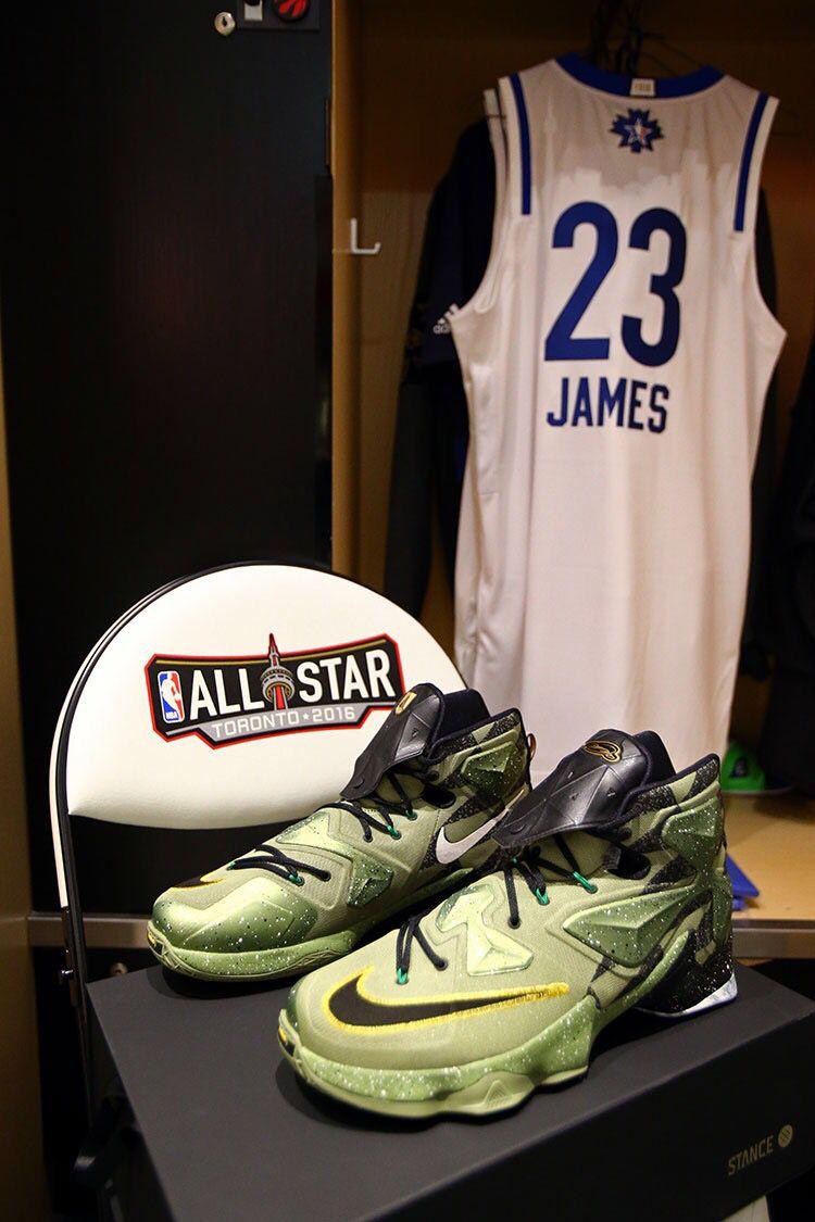 LBJ All-Star gear