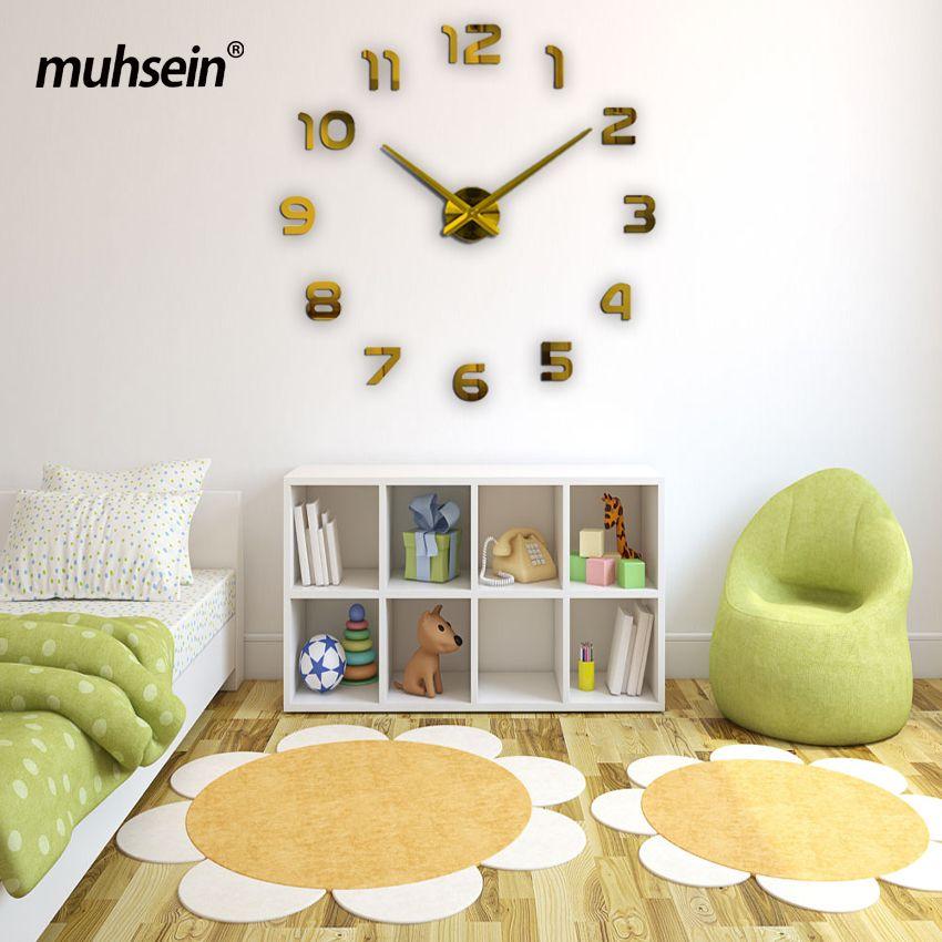 wall clock modern design SALE 2017 muhsein new Large wall clock