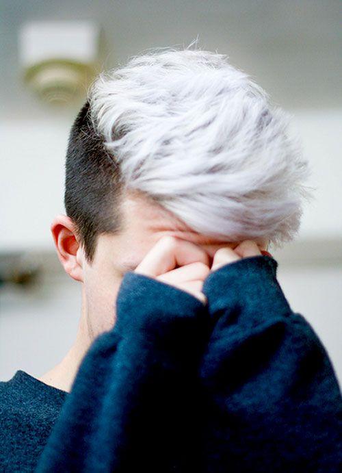 Two Tone Hair Color Short Hairstyles Jpg 500 691 Pixels Men Hair