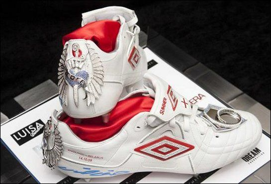THE MOST EXPENSIVE FOOTBALL BOOTS IN