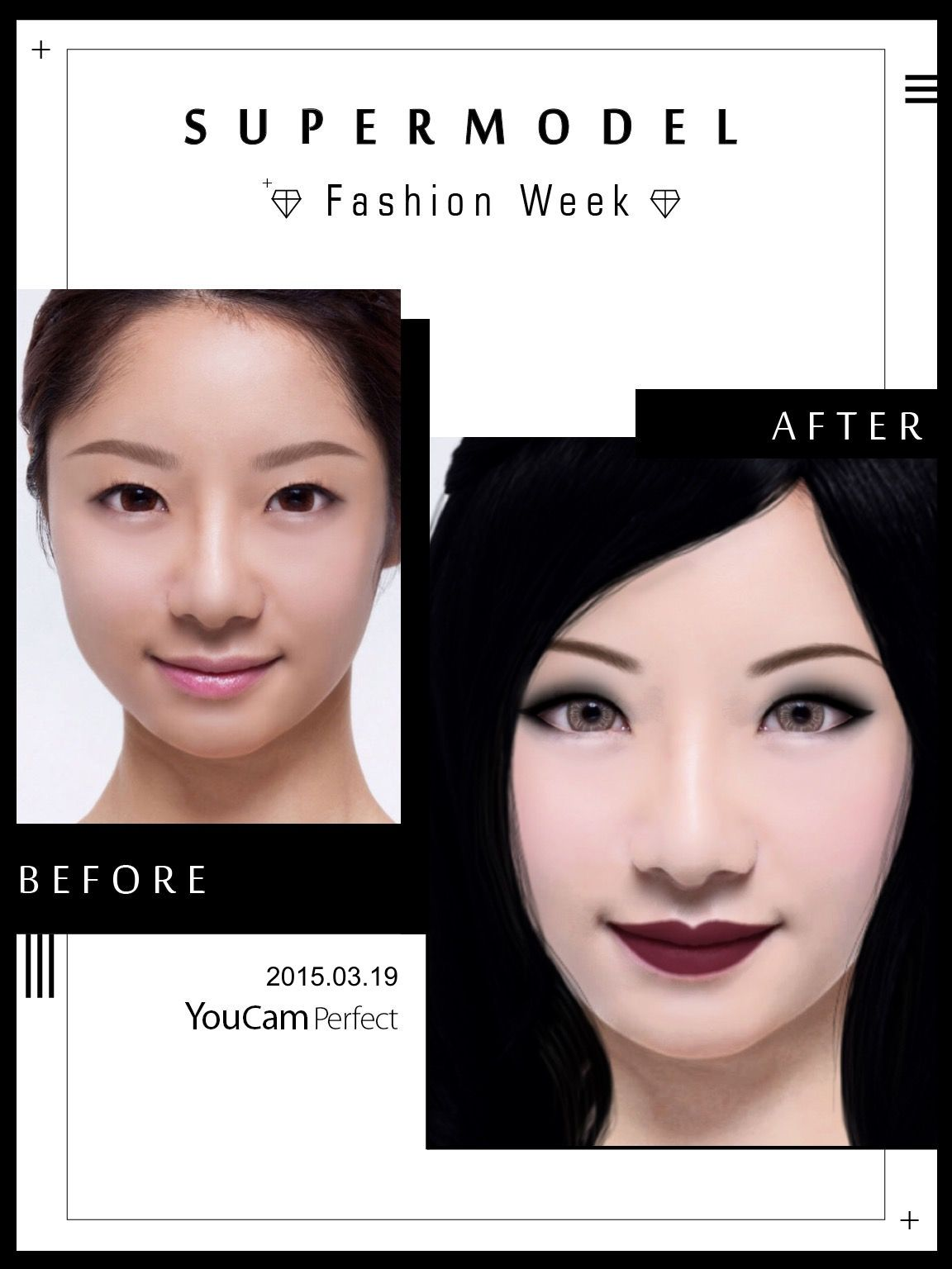 Pin by YouCam Apps on YouCam Perfect & YouCam Makeup