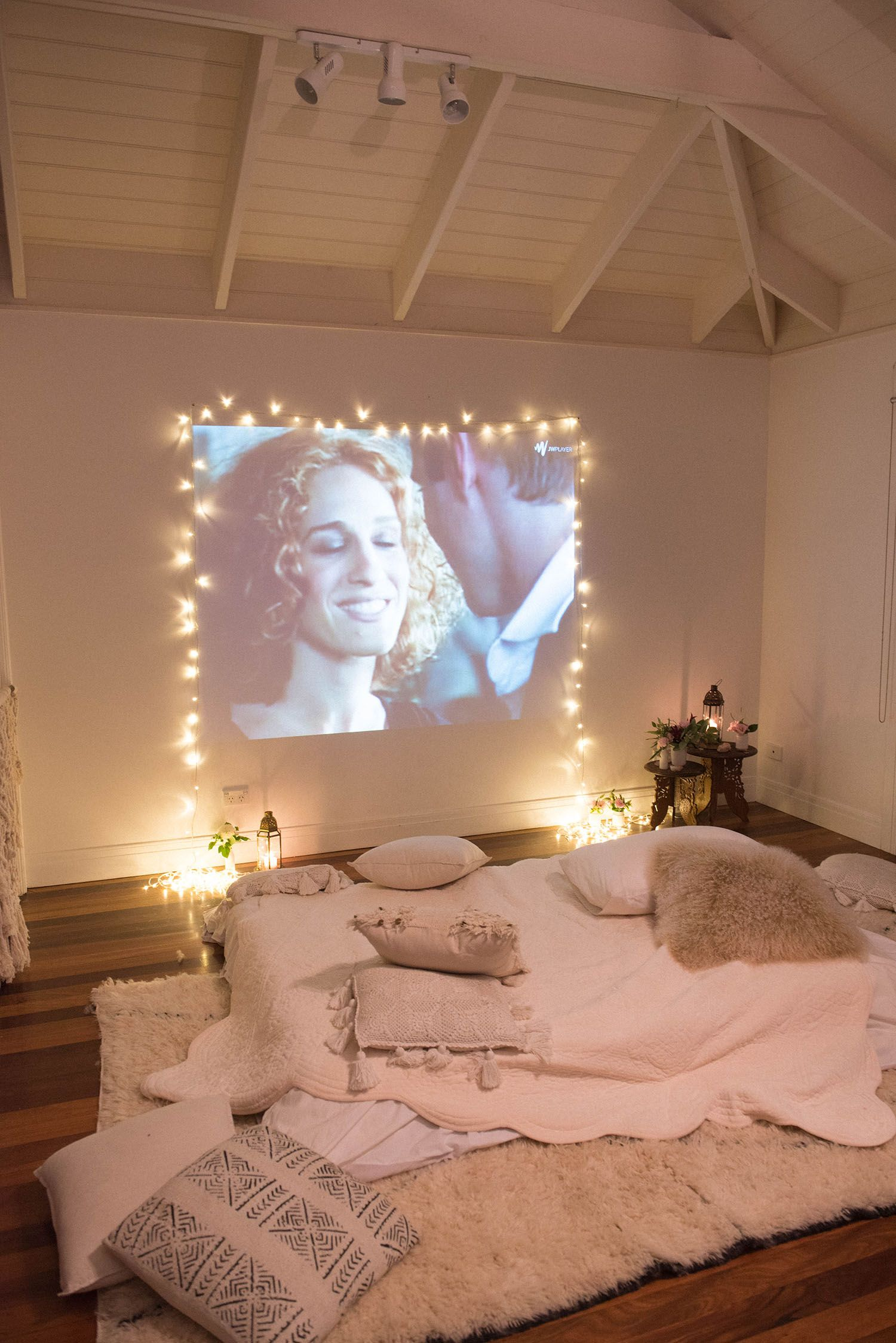 Cosy bedroom fairy lights - Spell The Gypsy Collective Galentines Day Dinner Party