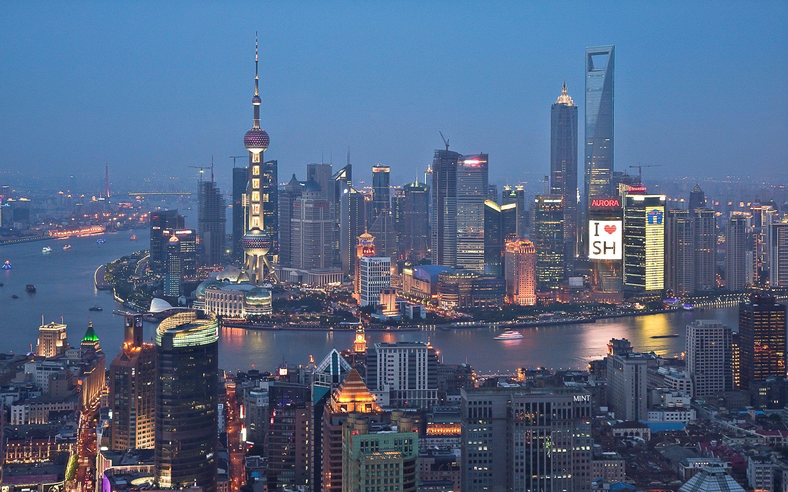 2560x1600 High Resolution Wallpaper Shanghai Shanghai Skyline Visit Shanghai Skyline