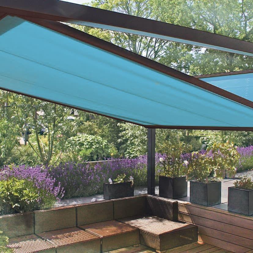 Innovative Design Markise Als Perfekter Sonnenschutz Fur Garten Und Terrasse Homify Markise Fur Balkon Pergola Abdeckung Sonnenschutz Terrasse