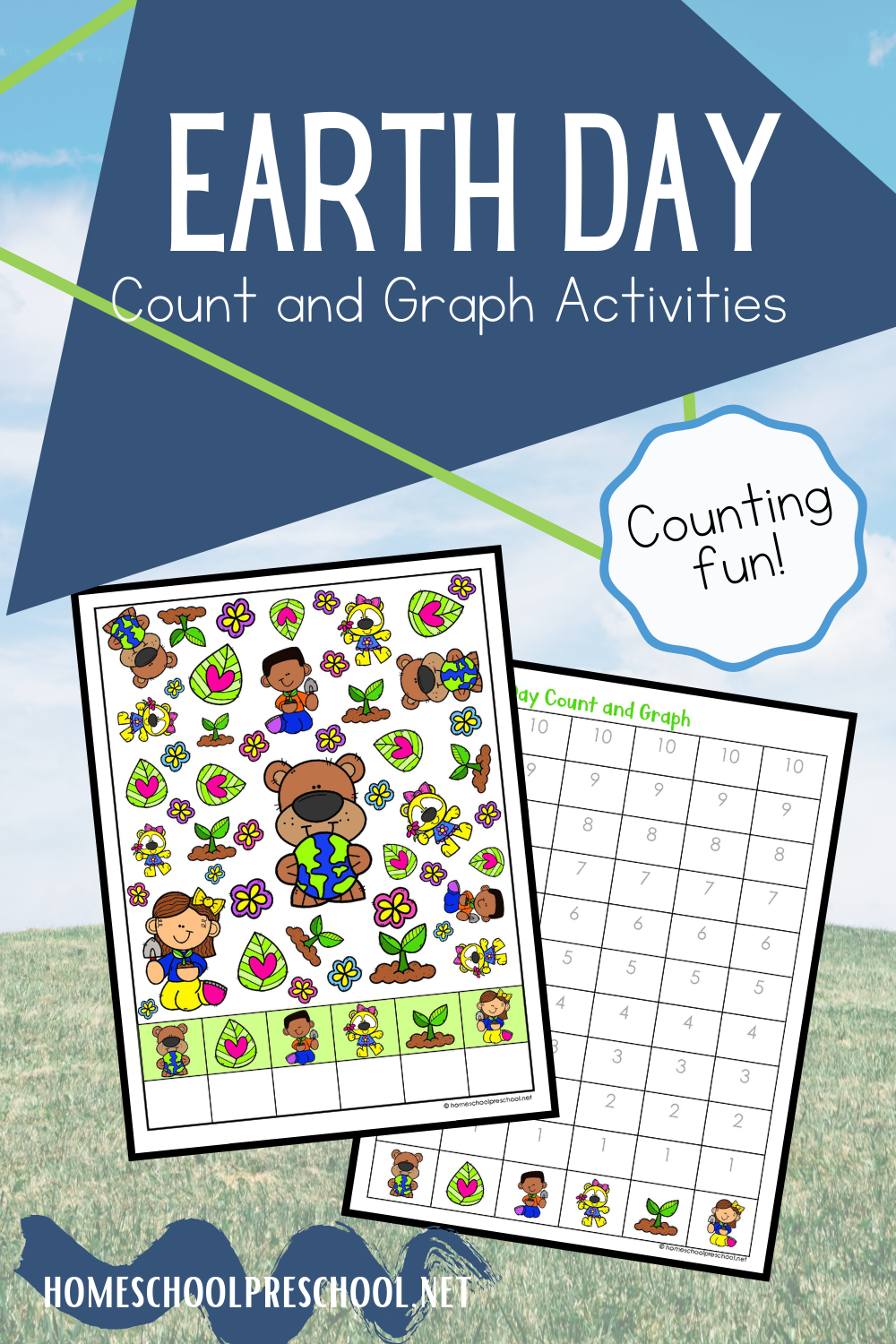 Earth Day Count And Graph In 2021 Earth Day Activities Earth Day Graphing [ 1500 x 1000 Pixel ]
