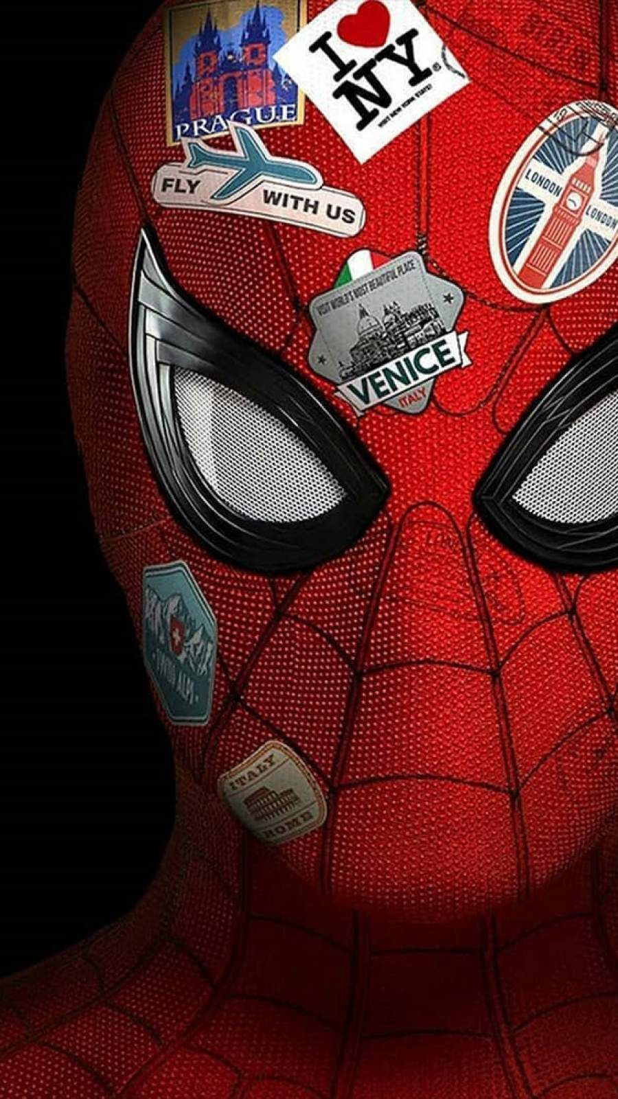 Spiderman Far From Home IPhone Venice NY Wallpaper