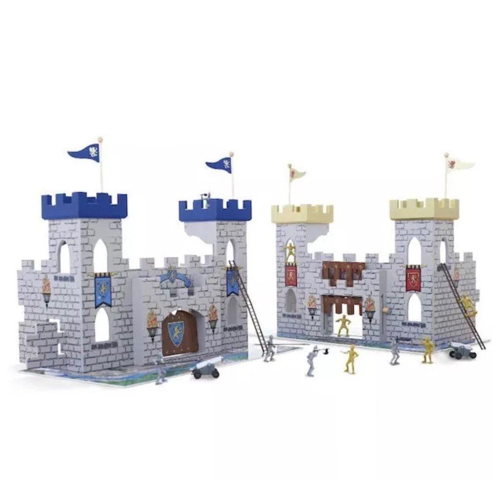Toysrus Manualidades.New Imaginarium 2 In 1 Medieval Battle Castle Pretend Play Toddler
