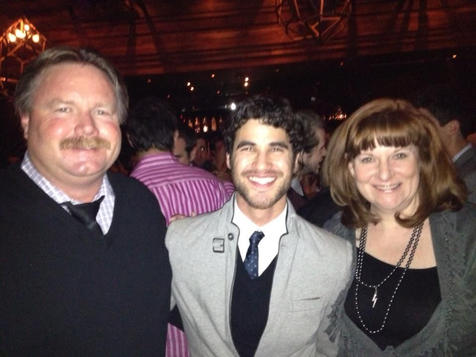 SBL Premiere - Darren with mama and papa Colfer