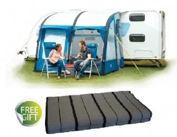 Royal Wessex Air 260 Inflatable Caravan Porch Awning with ...