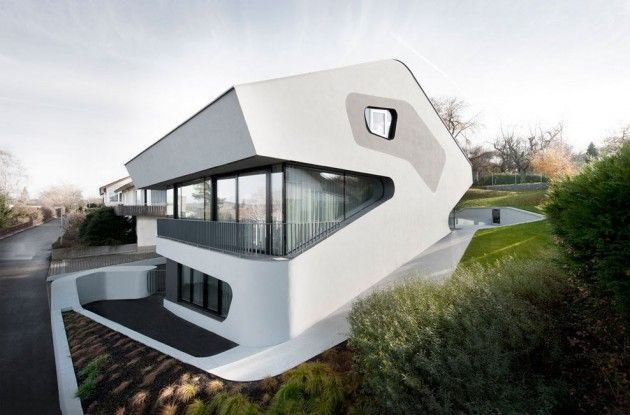 OLS House by J Mayer H Architects Architecture Pinterest