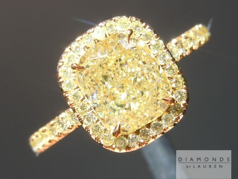 engagement rings diamond canary diamonds