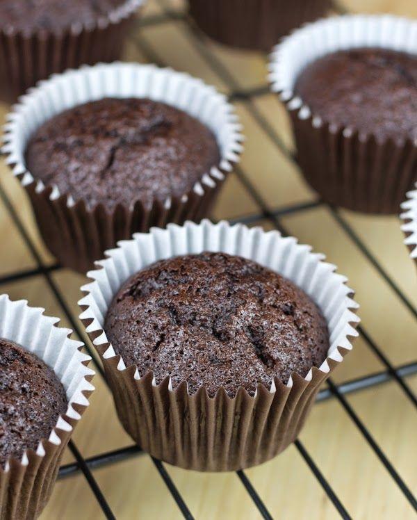Cupcakes choco y calabacin
