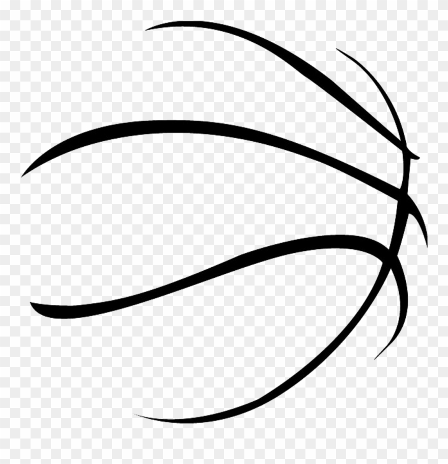 Vector Free Sport Transprent Png Free Basketball Outline Clipart 40054 Is A Creative Clipart Download The T Free Basketball Free Sport Basketball Clipart