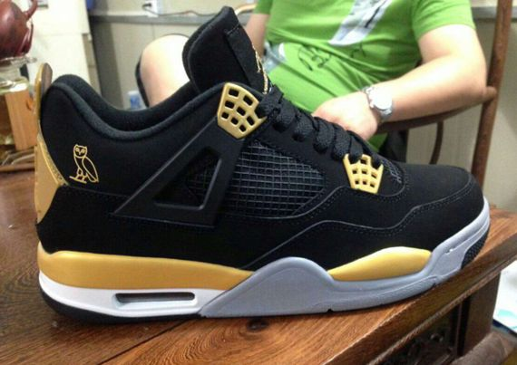 c0e9ccb114392c air jordan 4 retro ovo Air Jordan 4 OVO Sample