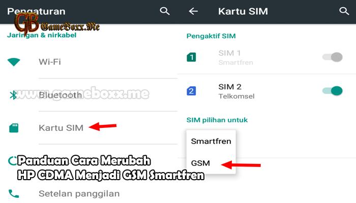 Panduan Cara Merubah Hp Cdma Menjadi Gsm Smartfren Kartu Pengetahuan Google Drive