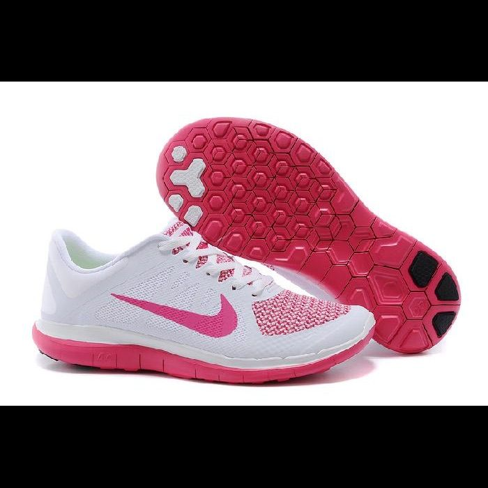 Nike Shoes | Nike Free 4.0 Shoes | Color: PinkWhite | Size