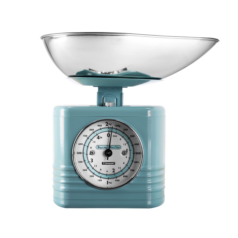 Typhoon Vintage Kitchen Traditional Kitchen Scales - Blue | Kitchen ...