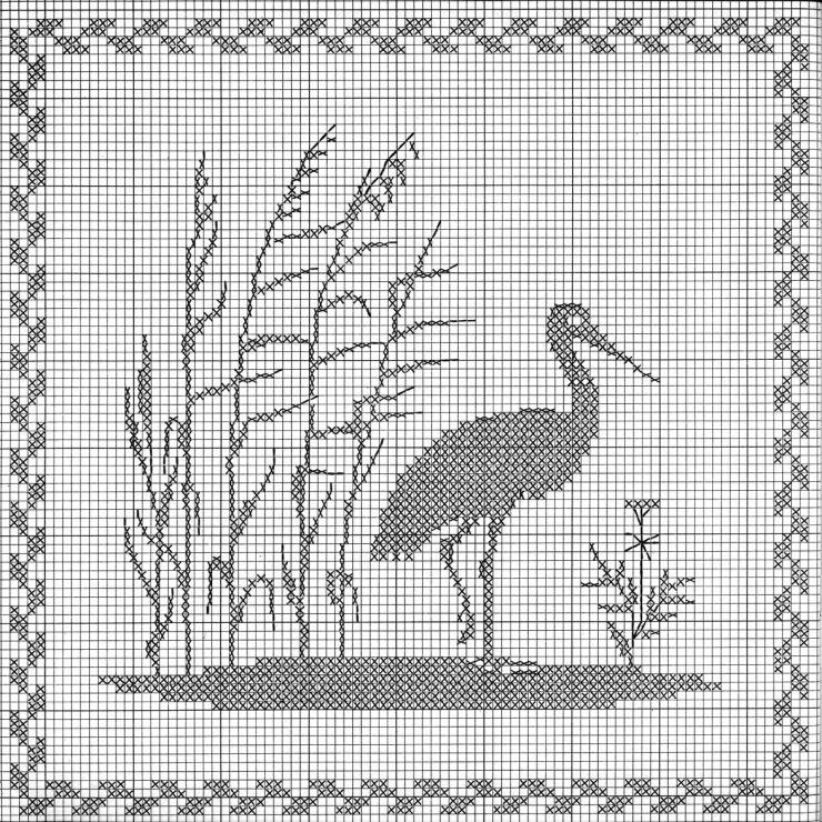 Heron Perfect for Joy\'s powder room window Gallery.ru / Фото #14 ...