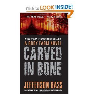 Currently 'digging in' to this awesome book by Jefferson Bass! Love it so far.