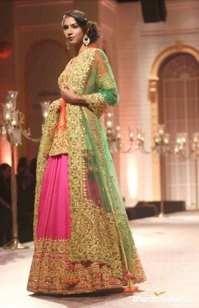 b4d74247bd Indian Pakistani Ghagra/ Lehenga Choli Designs Collection 2019-2020 ...