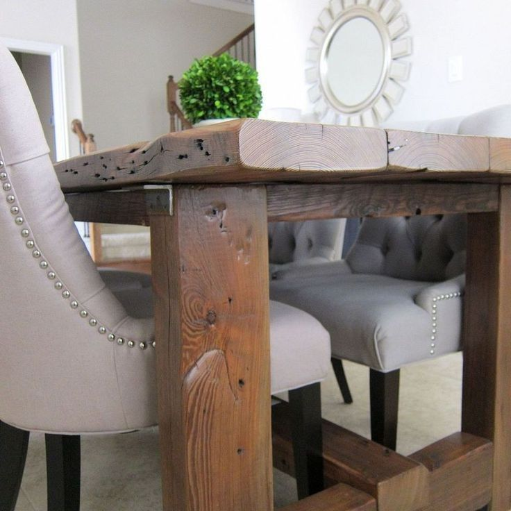 Best Images About Table On Pinterest Reclaimed Wood Dining - Cheap reclaimed wood dining table