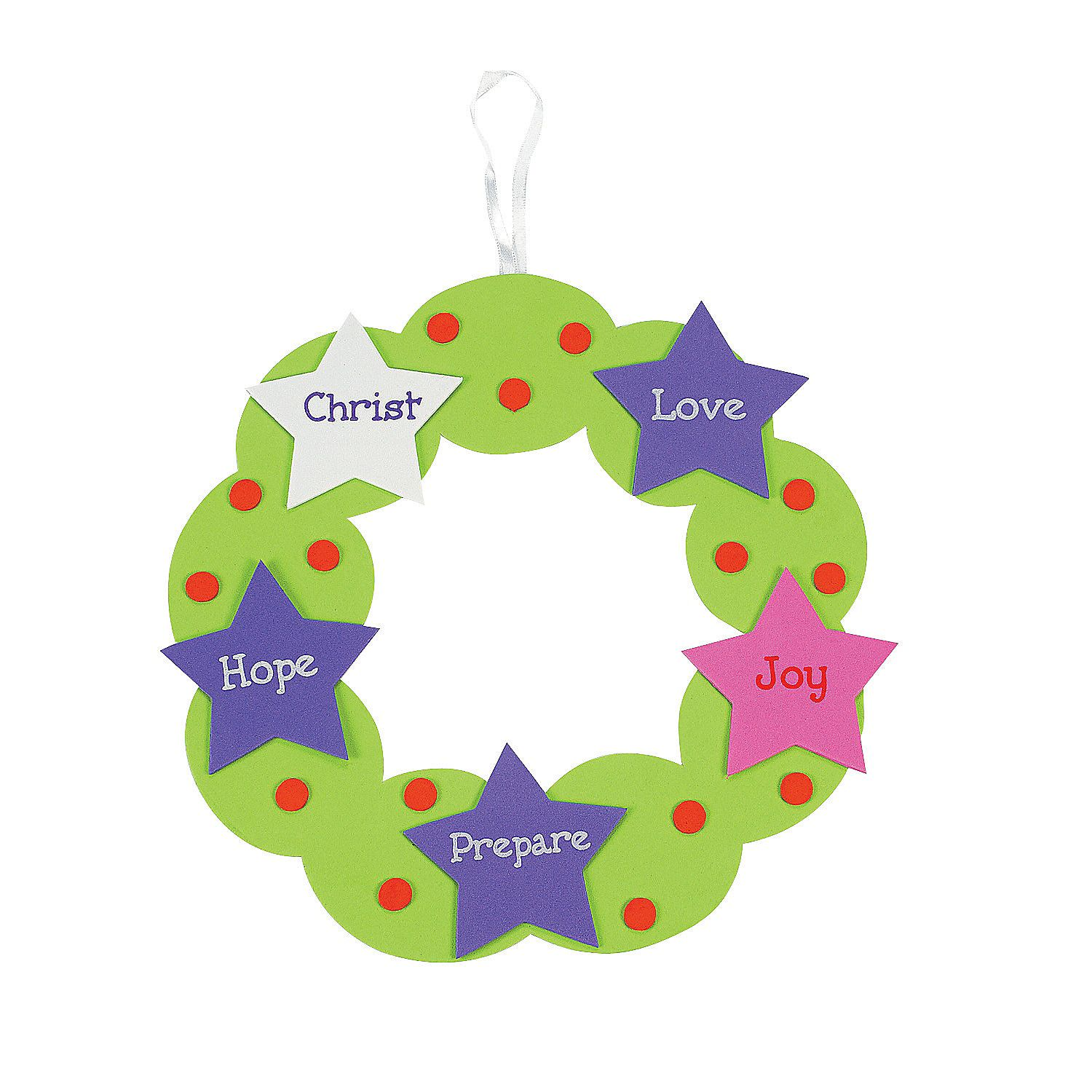 Advent Wreath Craft Kit From Orientaltrading I Could