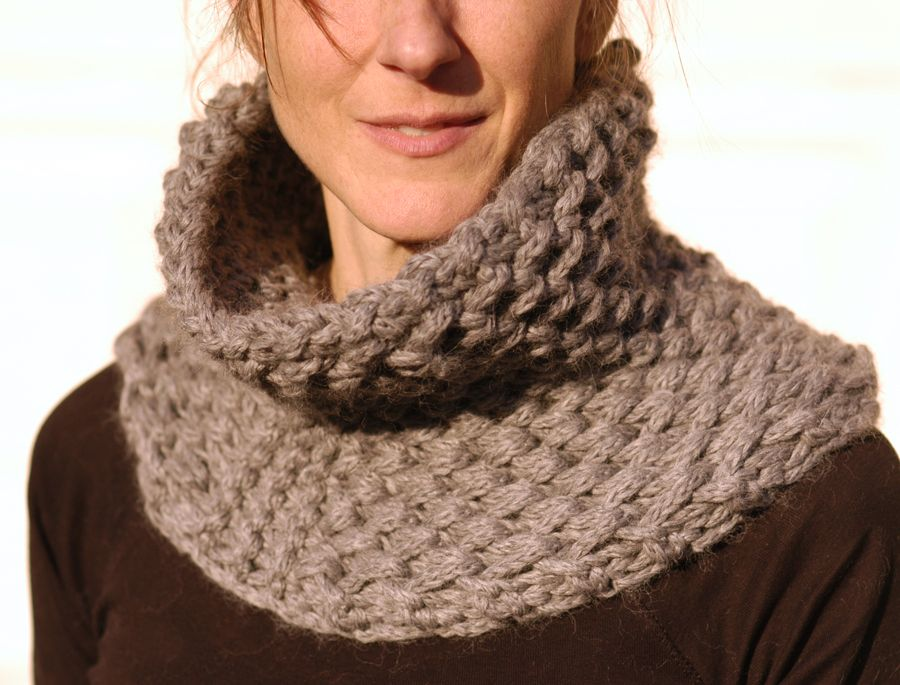 Free Knitted Cowl Patterns Pinterest : Knit 1 LA: the Brioche Honeycomb Cowl Free Knitting Patterns (Cowls) Pint...