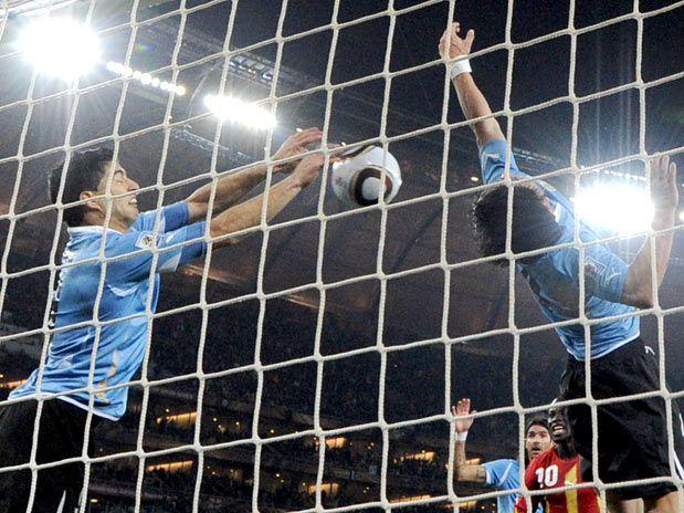 "Luiz Suarez ""GoalKeeper"" 2010. Gana V Uruguay"