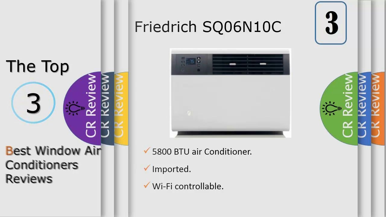 Top 3 Window Air Conditioners Reviews With Images Air