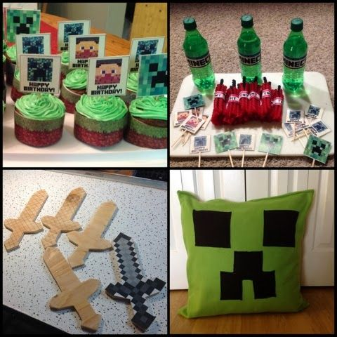 craft ideas for parties minecraft creations of mine diamonds 3878