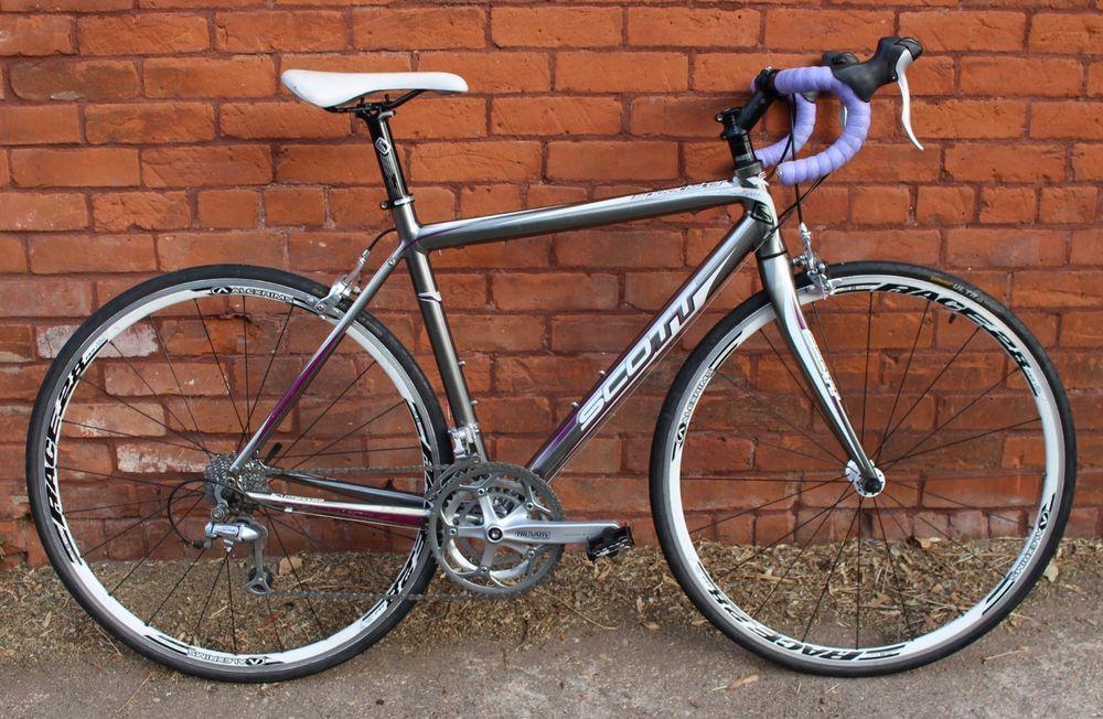 Scott Contessa Speedster 25 52cm Women S Road Bike Tiagra 30 Speeds Bike Road Bike Women Modern Bike