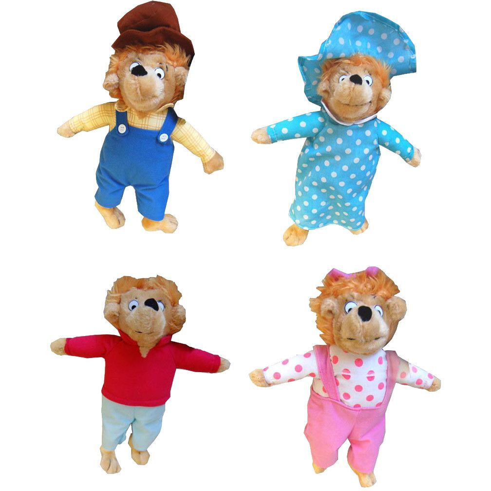 The Berenstain Bear Family Dolls (13\