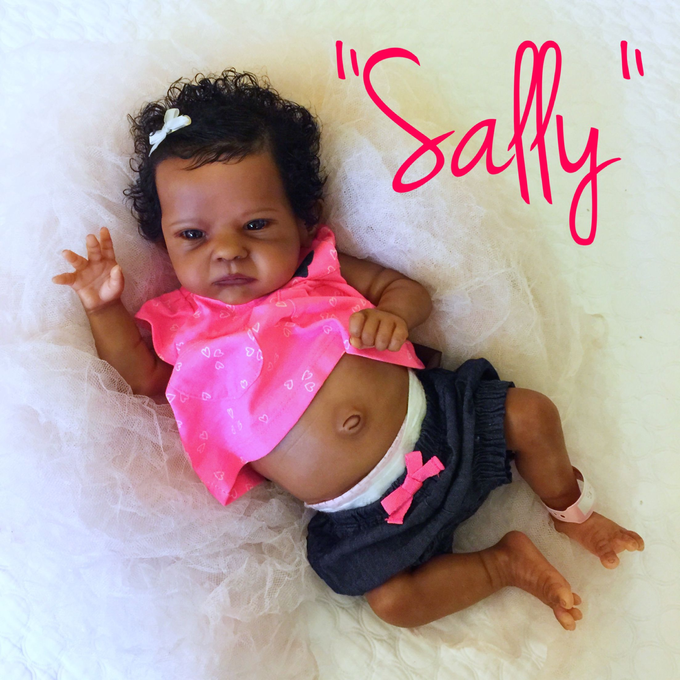 1c40c21c938f Sally sculpt by Bonnie Brown and reborned by Kate Charles Silicone Reborn  Babies