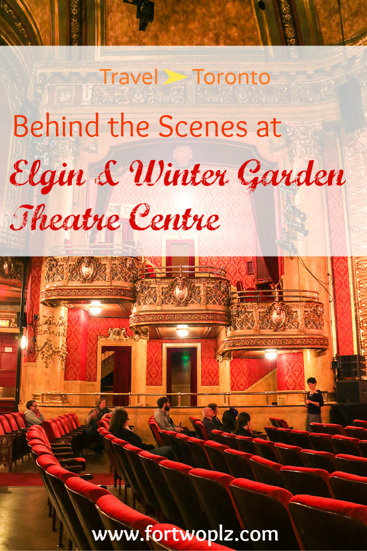 behind the scenes at elgin u0026 winter garden theatre centre winter