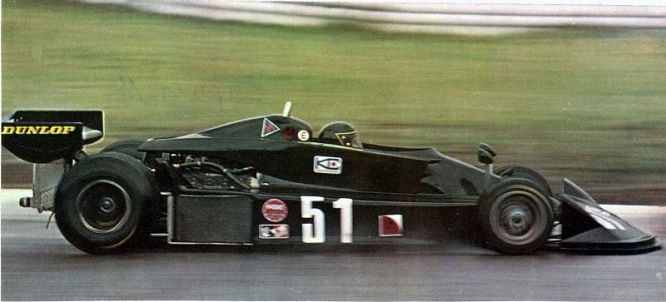 March 761 R Peterson 1976 #10 Accident South African GP 1:43 Model