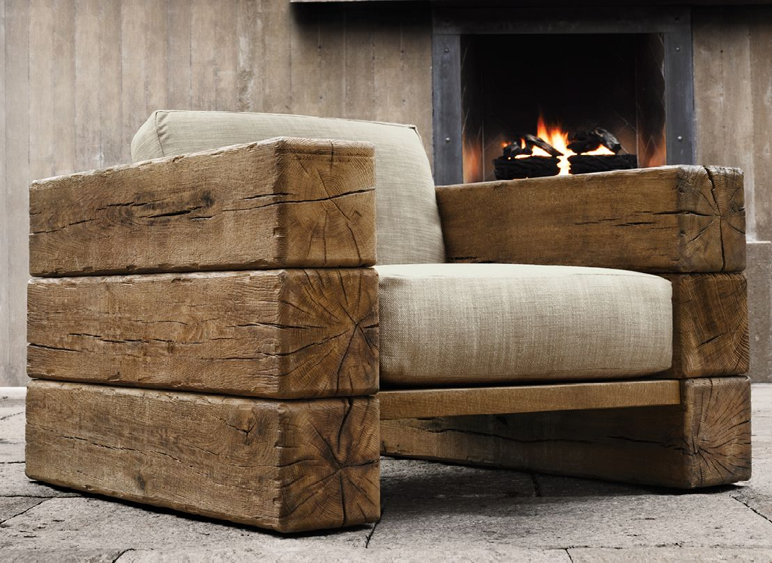 RH Outdoor Furniture Collection Spring 2013 Rustic