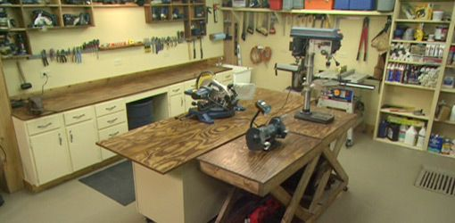 watch this video to see how to design the perfect workshop for your rh pinterest com wiring a home workshop Craftsman Garage Door Opener Wiring-Diagram