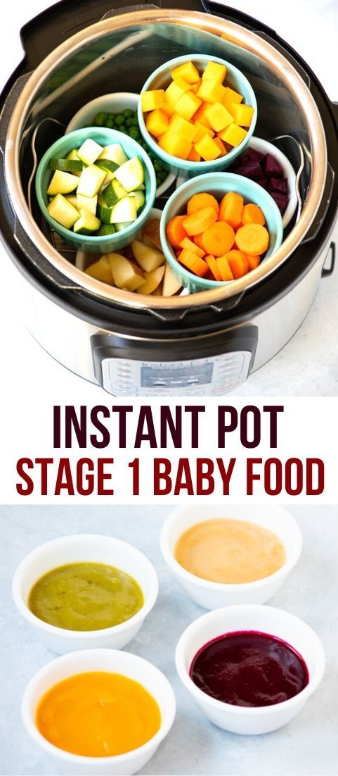 Easy Homemade Baby Food in your Instant Pot - Piping Pot Curry